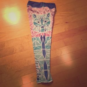 Seven sisters cat leggings 🐱